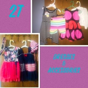 2T Dresses And Accessories